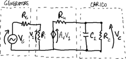 Amplifier with low-pass RC cell.png