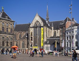 Dutch Reformed Church - The Nieuwe Kerk in Amsterdam (now belonging to the Protestant Church in the Netherlands) is still used for Dutch royal investiture ceremonies