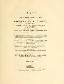 An essay towards a topographical history of the county of Norfolk vol. 7.djvu