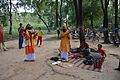 Ananda Khyapa and Tarun Khyapa with Group - Baul Song Performance - Saturday Haat - Sonajhuri - Birbhum 2014-06-28 5281.JPG