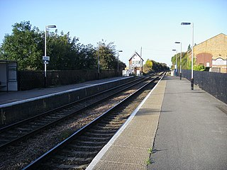 Ancaster railway station Railway station in Lincolnshire, England
