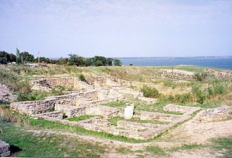 Olbia (archaeological site) - The ruins of Olbia