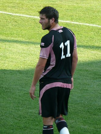 André-Pierre Gignac - Gignac playing for Toulouse in July 2008