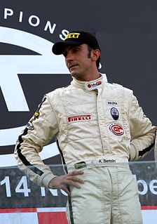 Andrea Bertolini Italian professional racing driver