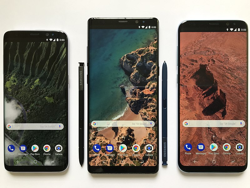 File:Android Smartphones.jpg