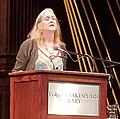 Annie Finch reading poetry at Folger Theatre.jpg
