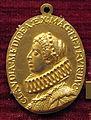 Anonimo, med. di leopoldo V arciduca del tirolo e claudia de' medici, 1625-32 ca., oro.JPG