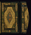 Anonymous - Binding from Three Short Sufi Works - Walters W643binding - Top Interior Open.jpg