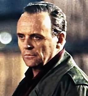 Anthony Hopkins, l'un des interprètes du personnage d'Hannibal Lecter.