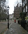 Approaching a postbox within Lincoln's Inn - geograph.org.uk - 1651666.jpg