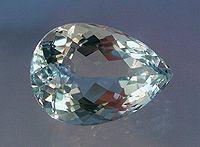 Acvamarin de 12 carate (șlefuit)