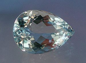 Beryl - Faceted aquamarine