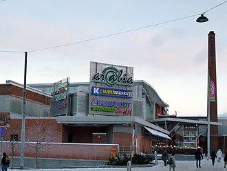 Arabianranta - Arabia shopping centre
