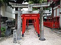 Arakida-Inari Shrine in Suikyo Temman Shrine.JPG
