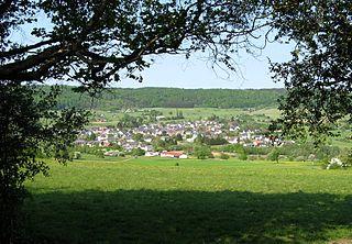 Westerwald low mountain range in Germany