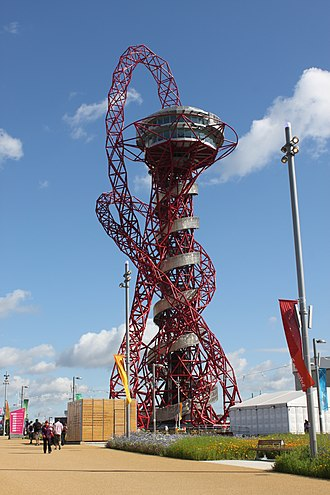 ArcelorMittal Orbit - The ArcelorMittal Orbit during the 2012 Summer Olympics.