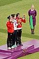 Archery Ladies Medal Ceremonay (7745117442).jpg