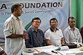 Ardhendu Roy Addressing - Health Check-up and Creative Ability Programme - Nisana Foundation - Debmalya Seva Mission - Howrah 2014-04-06 9817.JPG