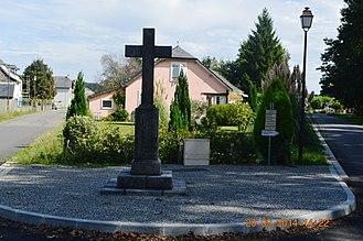 Aren - A Wayside Cross in Aren