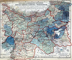 Demographics of the Ottoman Empire - Image: Armenian population map 1896