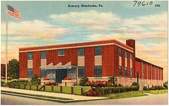 Nanticoke, Pennsylvania - Armory in Nanticoke