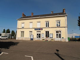 The railway station