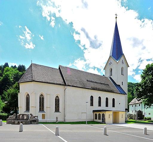 Arnoldstein Pfarrkirche Heiliger Lambert 20072012 133