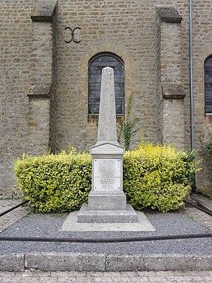 Arreux - The War Memorial