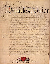 Many Scots opposed the 1707 Union