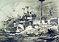 Artwork of USS Maine (ACR-1) (26157341335).jpg