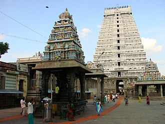 Arunachalesvara Temple - View of the temple complex