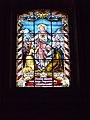 Ascension of Christ Church, Heart of Jesus window, 2016 Szekszard.jpg