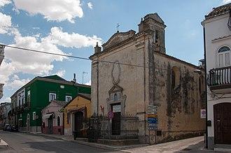 Ascoli Satriano - Church of San Rocco.
