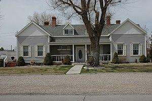 National Register of Historic Places listings in Beaver County, Utah - Image: Ashworth House 100 West Beaver Utah