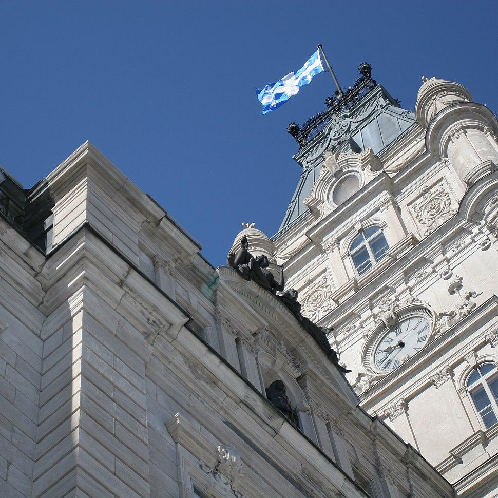 Assemblée nationale du Québec, l'Hôtel du Parlement (cropped)