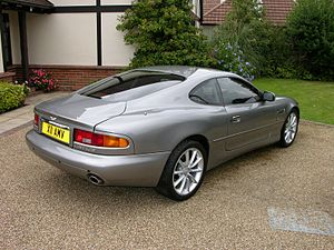 Aston Martin DB7 - Coupe