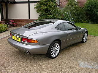 Aston Martin DB7 - Coupé