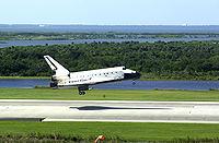 Atlantis STS-112 landing