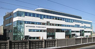 Judiciary of Sweden - Attunda district court in Tureberg