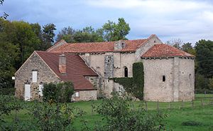 Broût-Vernet - Aubeterre priory