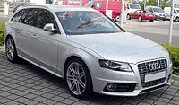 Audi S4 B8 Kombi front 20090412.jpg