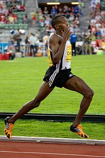 Augustine Kiprono Choge Kenyan runner and 2006 Commonwealth champion