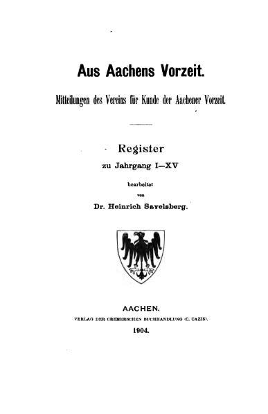 File:Aus Aachens Vorzeit Register 01-15.djvu