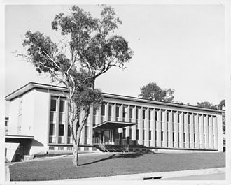 Embassy of Germany, Canberra - Exterior view of the German Embassy Canberra in the late 1950s
