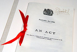 Law of Australia - Wikipedia, the free encyclopedia