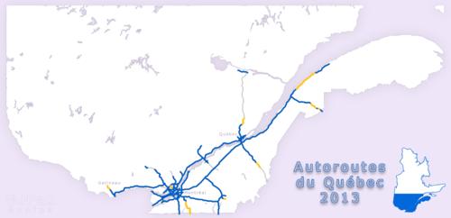 Condition Routiere Quebec >> Reseau Autoroutier Quebecois Wikipedia
