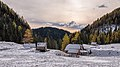 Autumn and winter in the Julian Alps with cottages.jpg