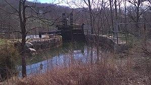 Avalon, North Carolina - Image: Avalon Mills flume grate