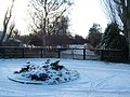Avenue to a snowy Meare, Thorpeness - geograph.org.uk - 1639725.jpg