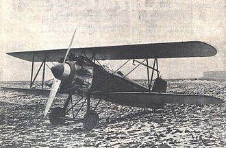 Avia BH-33 - Avia BH-33 with engine Walter-Jupiter 480–600 HP